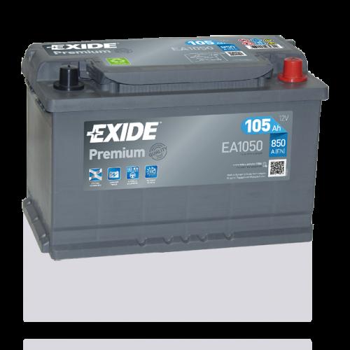 Exide Premium 105Ah EA 1050