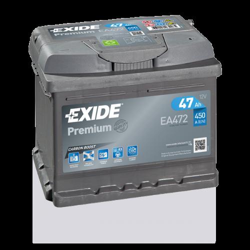Exide Premium 47Ah EA472