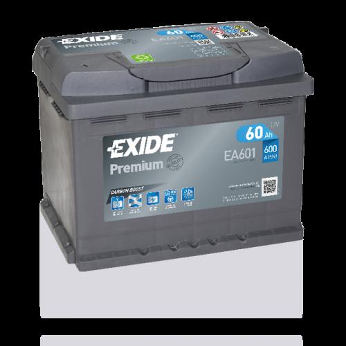 Exide Premium 60Ah EA601