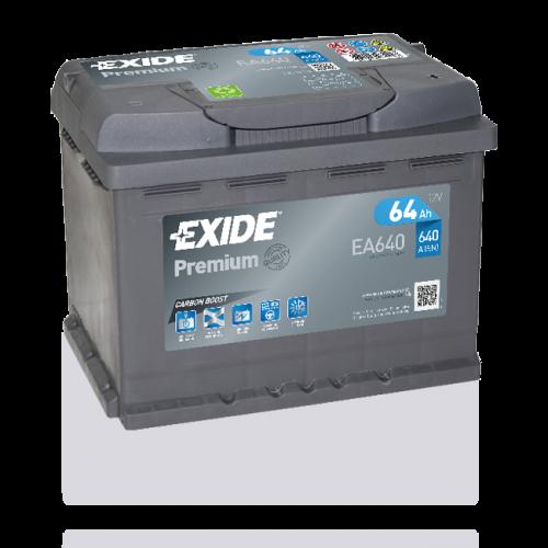 Exide Premium 64Ah EA640