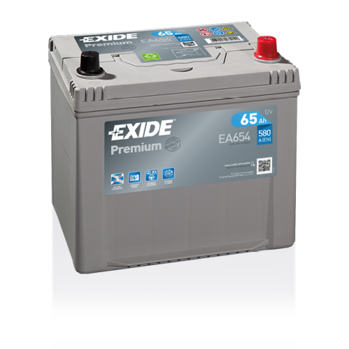 Exide Premium 65Ah EA654