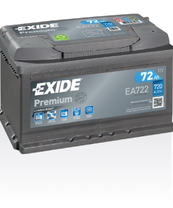 Exide Premium 72Ah EA722