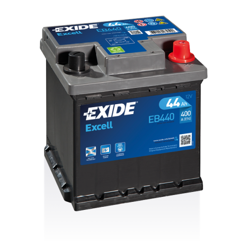 Exide Excell 44 Ah EB440