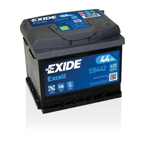 Exide Excell 44 Ah EB442