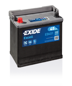 Exide Excell 45 Ah EB451