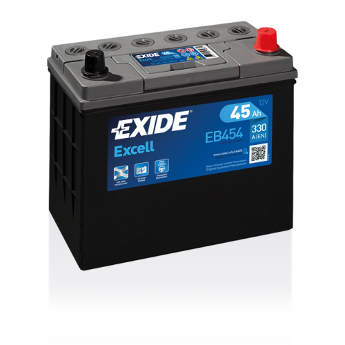 Exide Excell 45 Ah EB454