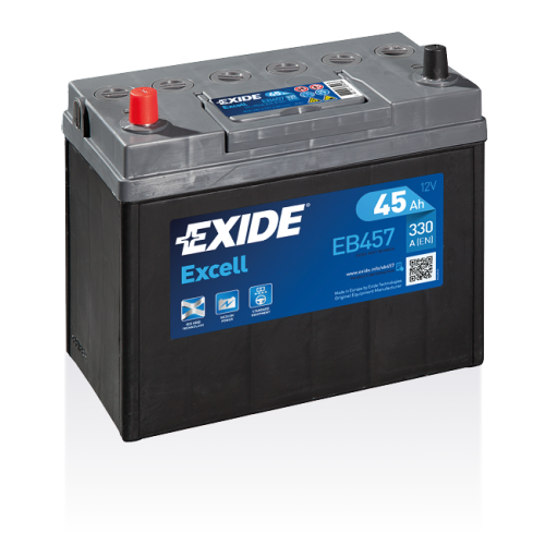 Exide Excell 45 Ah EB457