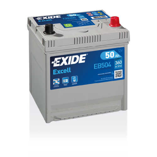 Exide Excell 50 Ah EB504