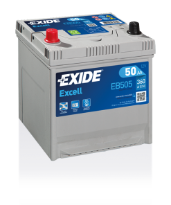 Exide Excell 50 Ah EB505