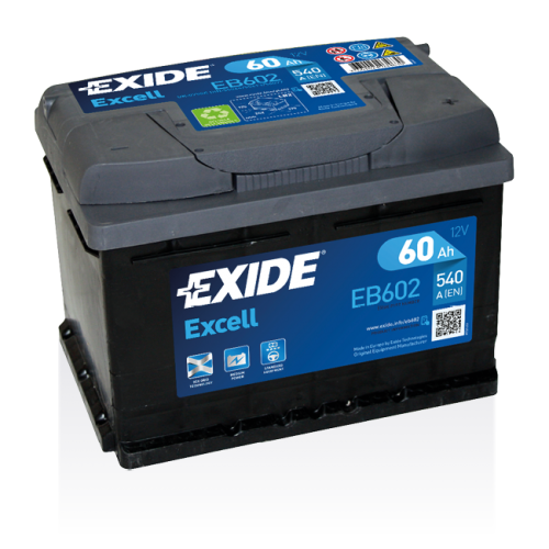 Exide Excell 60 Ah EB602