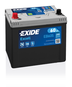 Exide Excell 60 Ah EB605