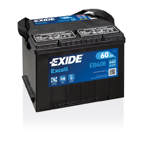 Exide Excell 60 Ah EB608