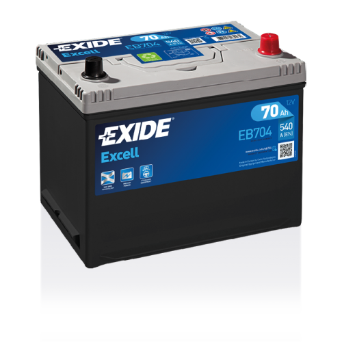 Exide Excell 70 Ah EB704