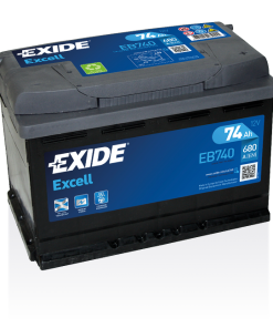 Exide Excell 74 Ah EB740