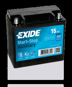 Exide 15 Ah EK151 Start Stop